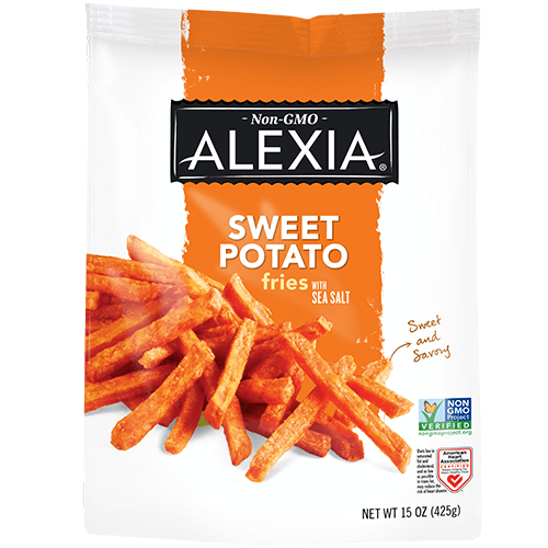 Sweet Potato Fries with Sea Salt